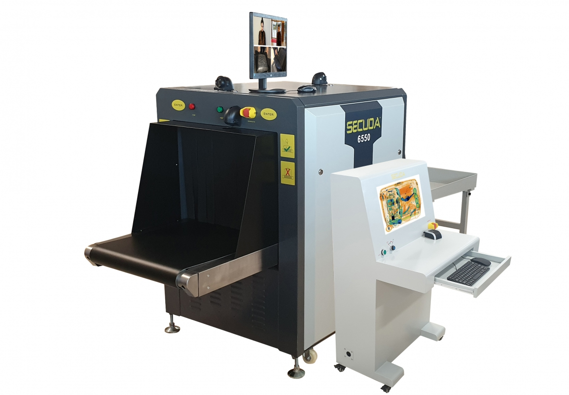 SECUDA 6550 XRAY BAGGAGE SCANNER DEVICE