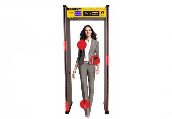 SECUDA SEC850 Metal Detector