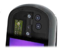 2D, 3D and IR cameras